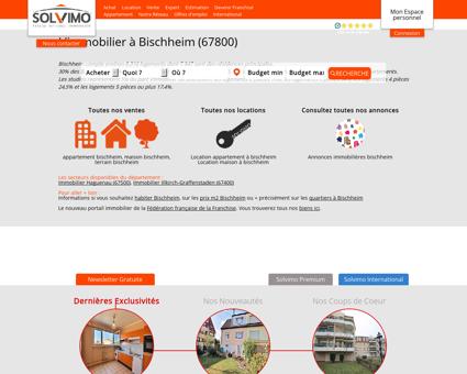 Immobilier Bischheim Solvimo