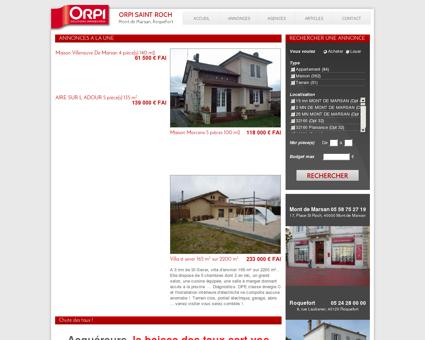 Immobilier Mont-de-Marsan et Roquefort :...