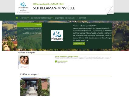 Notaire SAMATAN (32) - SCP BELAMAN...
