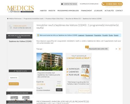 Programme Immobilier Septèmes-les-Vallons...