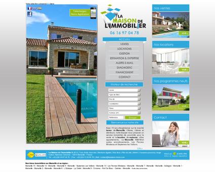La Maison de l Immobilier Marseille 13015 -...