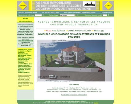 agence immobilière à Septèmes-les-Vallons...