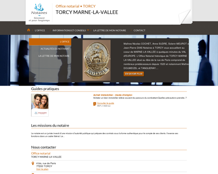 Notaire TORCY (77) - TORCY MARNE-LA-VALLEE