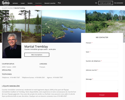 Martial Tremblay - Courtier immobilier Alma |...