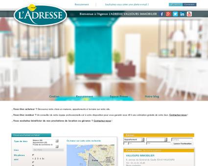immobilier | L'Adresse VAUJOURS IMMOBILIER