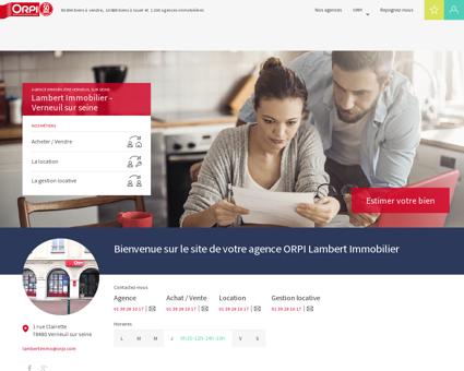 ORPI Lambert Immobilier - Agence...