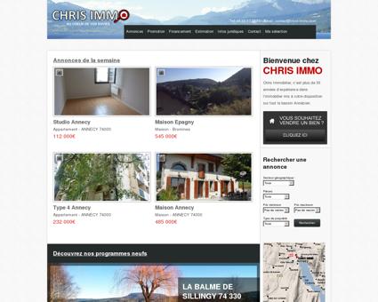 CHRIS IMMOBILIER - Agences immobilières...