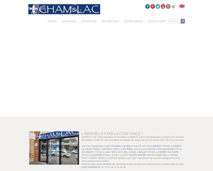 CHAM&LAC Immobilier Annecy : maison et...