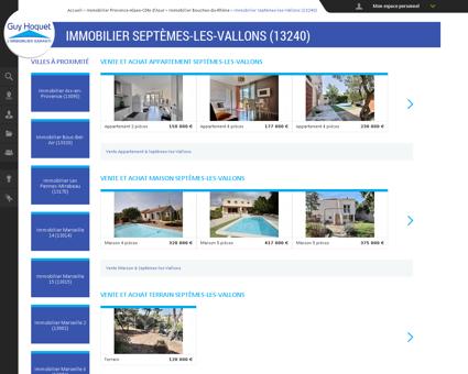 Immobilier Septèmes-les-Vallons (13240) -...