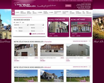 Agence Immobilière Pontarlier - Métabief -...