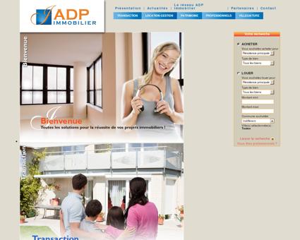 ADP Immobilier - Des agences immobilières...