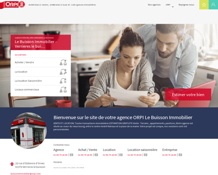 ORPI Le Buisson Immobilier - Agence...