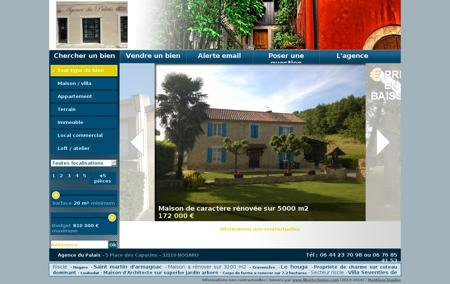 Agence du Palais : agence immobilière à...