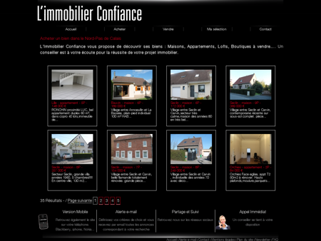 Immobilier Confiance - Acheter un bien