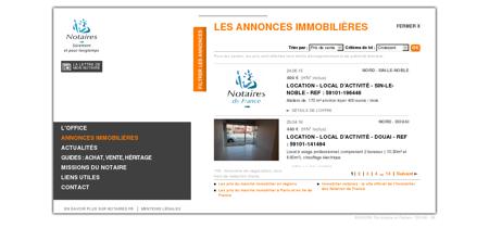 Annonce immobilier notaire - DOUAI (59)