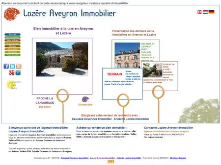 Bienvenue chez Lozère Aveyron Immobilier -...