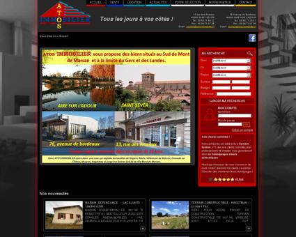Atos Immobilier - Immobilier à Aire sur l'Adour