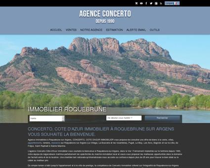 Agence immobiliere Roquebrune Sur Argens -...