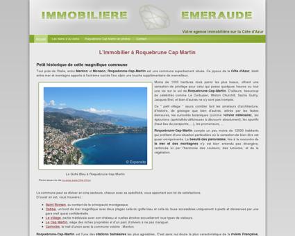 L'immobilier à Roquebrune Cap-Martin avec...
