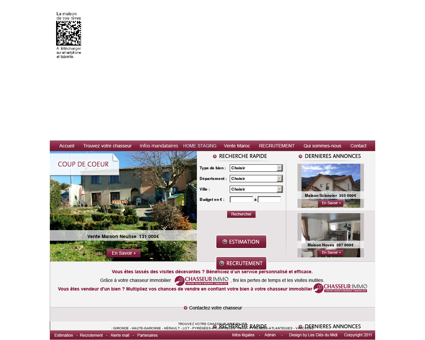 Mandataire immobilier: Chasseur immo, le...