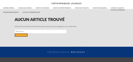 CAPCIR IMMOBILIER - LES ANGLES