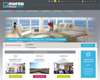 Immobilier à Istres, Port de Bouc et Saint...
