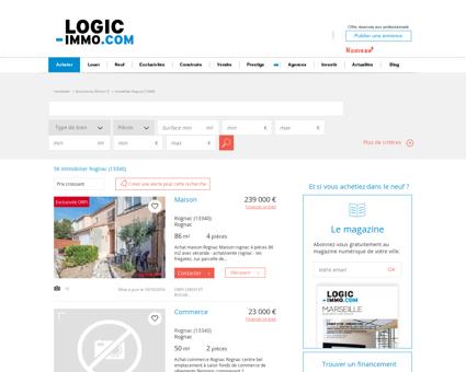 Achat Rognac 13340: biens immobiliers -...