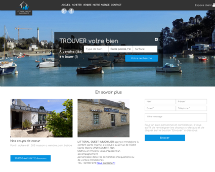 immobilier | littoral ouest immobilier