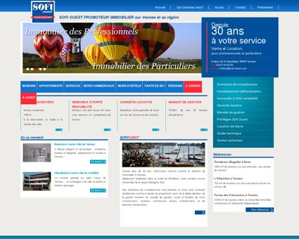 SOFI Ouest promoteur immobilier, agence...