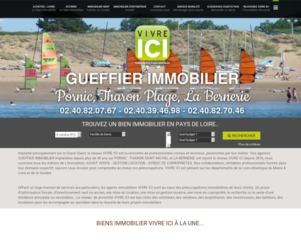 Immobilier PORNIC & THARON PLAGE -...