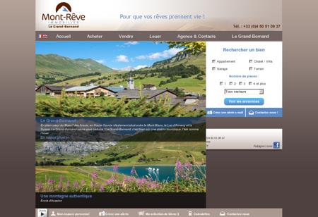 Immobilier Le Grand-Bornand en Haute-Savoie...