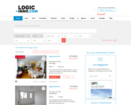 Achat Morangis 91420: biens immobiliers -...