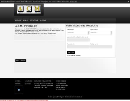 Annonces immobilier (Vente, Location) A.C.M....