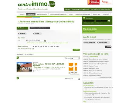 Vente maison Neuvy-sur-Loire (58450) -...
