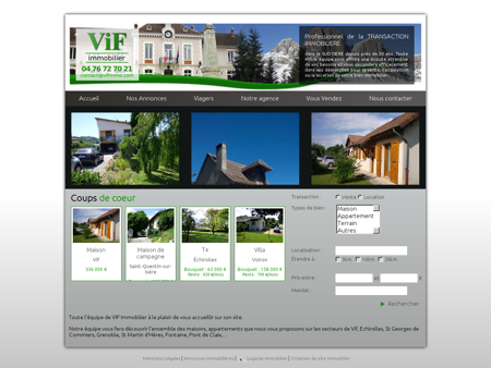Accueil | VIF Immobilier