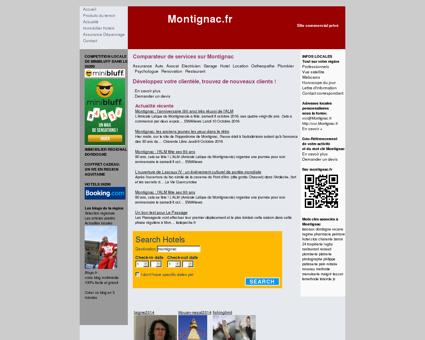Site non officiel Montignac : votre guide sur...