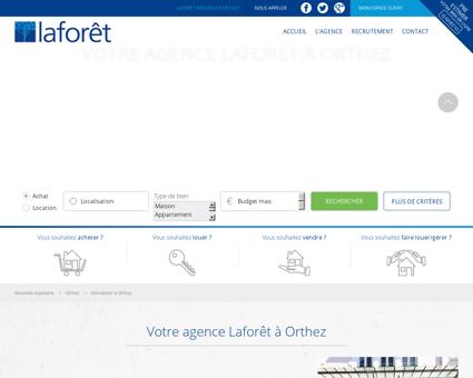 L'immobilier à Orthez - Agence immobilière...