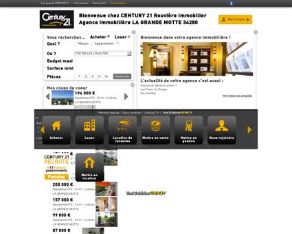 Agence immobilière LA GRANDE MOTTE...
