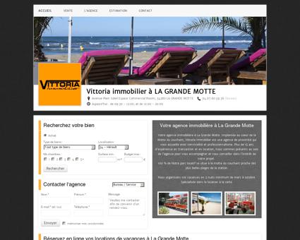 Agence immobilière VITTORIA IMMOBILIER à...