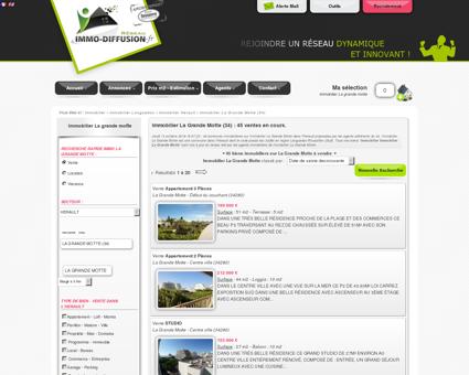 Immobilier La Grande Motte : Immo Diffusion...
