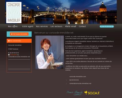 Agence immobilière à Toulouse - Concorde...