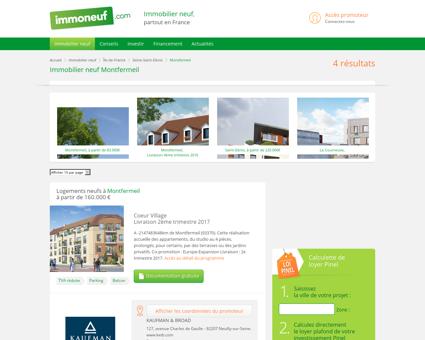 Immobilier Neuf Montfermeil (93370) -...