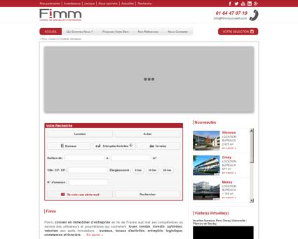 Conseil en immobilier d'entreprise | Fimm