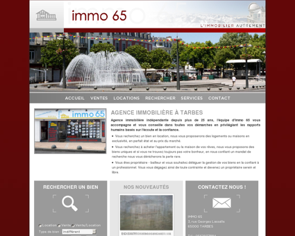 Immobilier 65, agence immobilière à TARBES...
