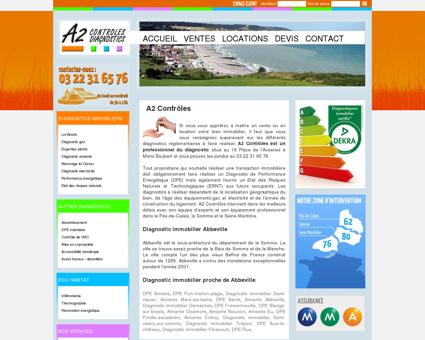 Diagnostic immobilier Abbeville, DPE...