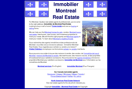 Immobilier Montreal Real Estate Agents &...