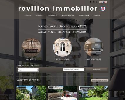 Revillon Immobilier : agence immobilière...