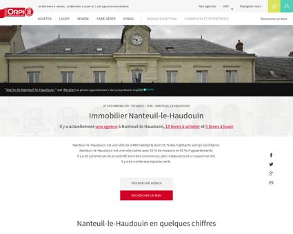 Immobilier Nanteuil le haudouin - Biens...