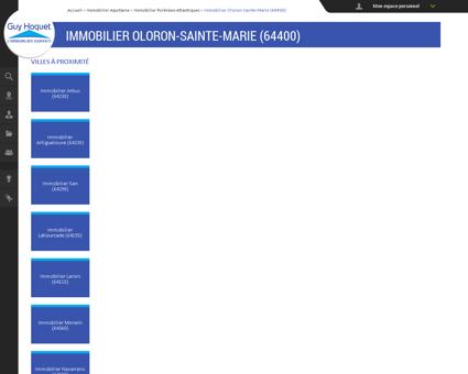 Immobilier Oloron-Sainte-Marie (64400) -...