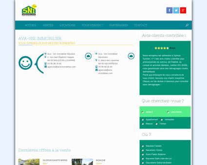 Sni Immobilier - Soule Navarre Immobilier,...